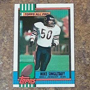 Chicago Bears Mike Singletary Sports Memorabilia C